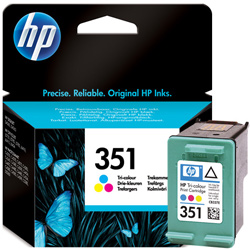 Hp 351 Colour Ink Cartridge Original