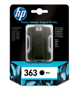 Hp 363 Black Ink cartridge Original 6Ml