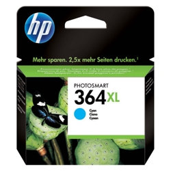 HP 364XL Cyan Ink Cartridge Original -