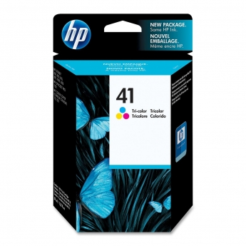 HP 41  Tri-Colour Inkjet Print Cartridge