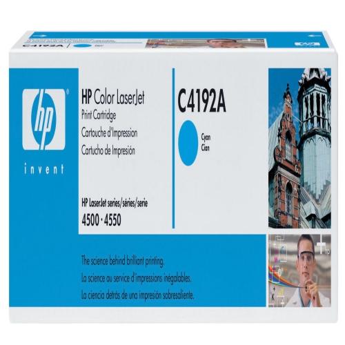 HP C4192A Original Cyan Toner - Hp c4192 Toner