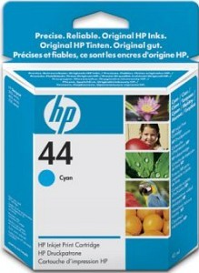 HP 44 Cyan Ink Cartridge for DesignJet 350C-750C-755CM