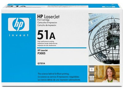 Hp Q7551A Black Toner Original