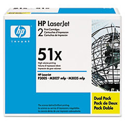 Hp Q7551X  Black Toner Original