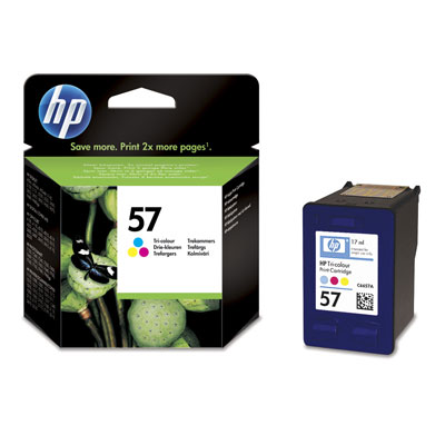 Hp 57 Tri Colour Ink Cartridge Original