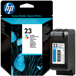 Hp 23 Tri Colour Ink Cartridge Original