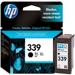 Hp 339 Black Ink Cartridge Original High Cap