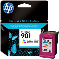 Hp 901 Tri Colour Ink Cartridge Original