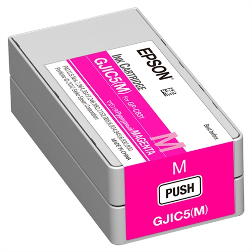 Epson SJIC22P M magenta ink cartridge original