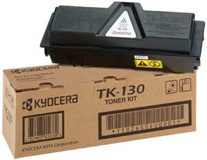 Kyocera TK-130 black toner original Kyocera