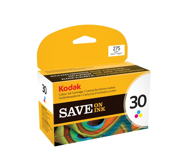 Kodak 30CL Ink Cartridge Colour Yield 390 Pages Original