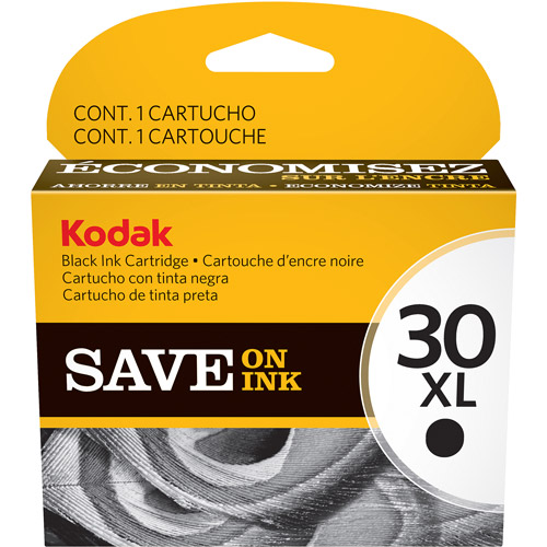 Kodak 30XL Black Ink Cartridge Original 670 Page Yield