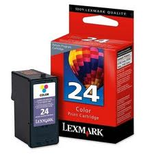Lexmark 24 Colour Return Inkjet Cartridge Original