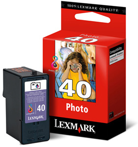 Lexmark 40 18Y0340E photo ink cartridge ORIGINAL