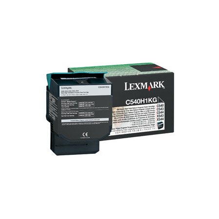 Lexmark C540H1KG high-cap black toner original