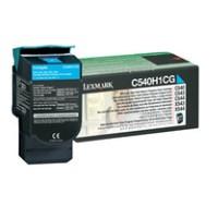 Lexmark C540H1CG high-cap cyan toner original