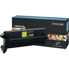 Lexmark C9202YH yellow toner original