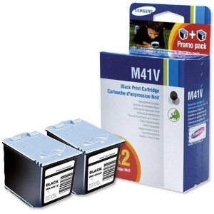 Samsung M41 Black Cartridge Twin Pack Original