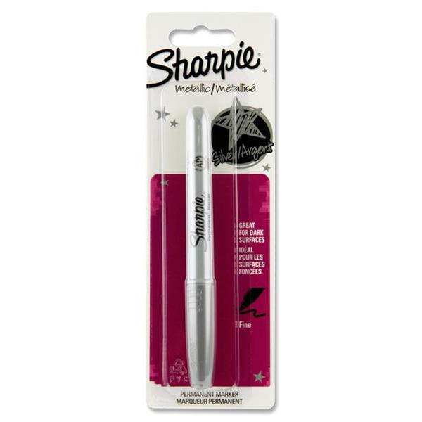 SHARPIE METALLIC PERMANENT MARKER SILVER