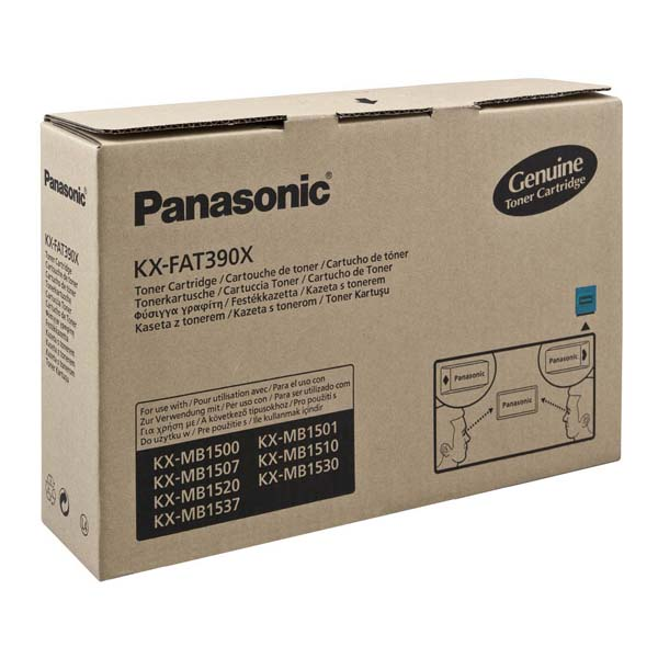 Panasonic KX-FAT390X black toner original