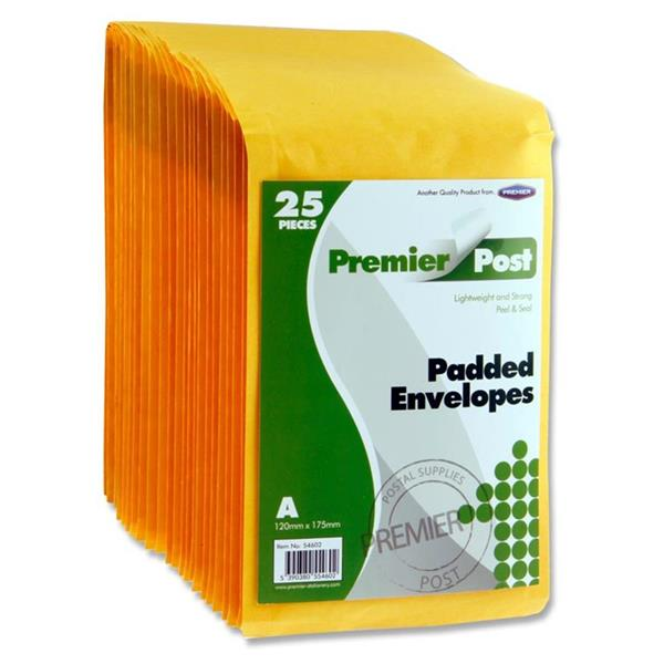 PREMIER POST SIZE A 120x175 PADDED ENVELOPE