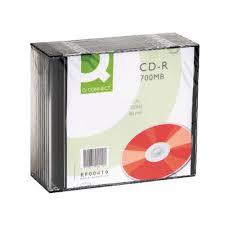 CD-R 700MB 80minutes in Slim Jewel Case Pack of 10