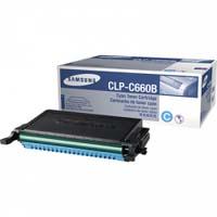 Samsung CLP-C660B high-cap cyan toner original Samsung