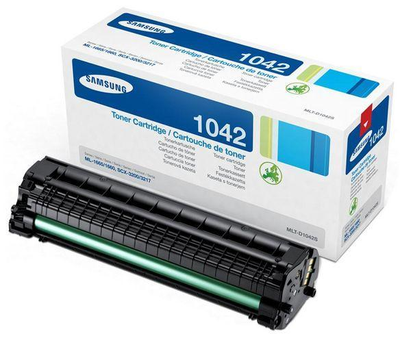 Original Samsung MLT-D1042S black toner capacity 1500 pages