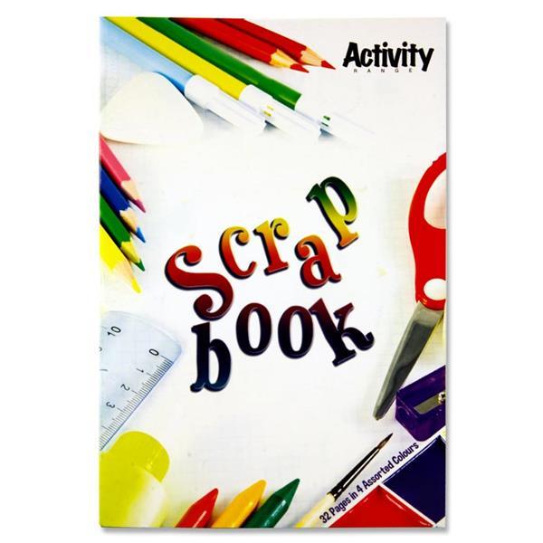 PREMIER ACTIVITY 32pg 360x240mm SCRAP BOOK
