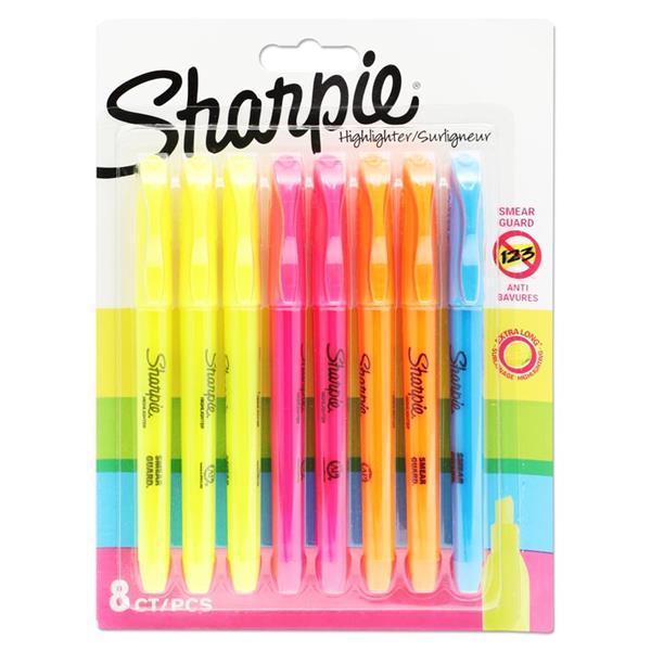 Sharpie Card 8 Asst Highlighter Markers
