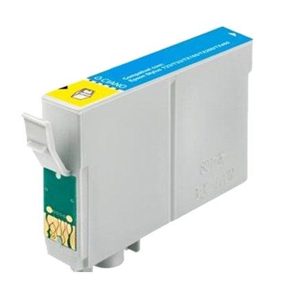 Compatible For Epson T0322 Cyan Ink Cartridge Chipped