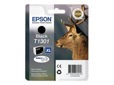 Epson T1301 Black Ink Cartridge Extra High Cap Original