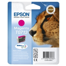 Epson TO713 Magenta Ink cartridge Original