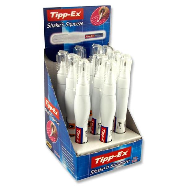 TIPPEX SHAKE N SQUEEZE PEN LOOSE