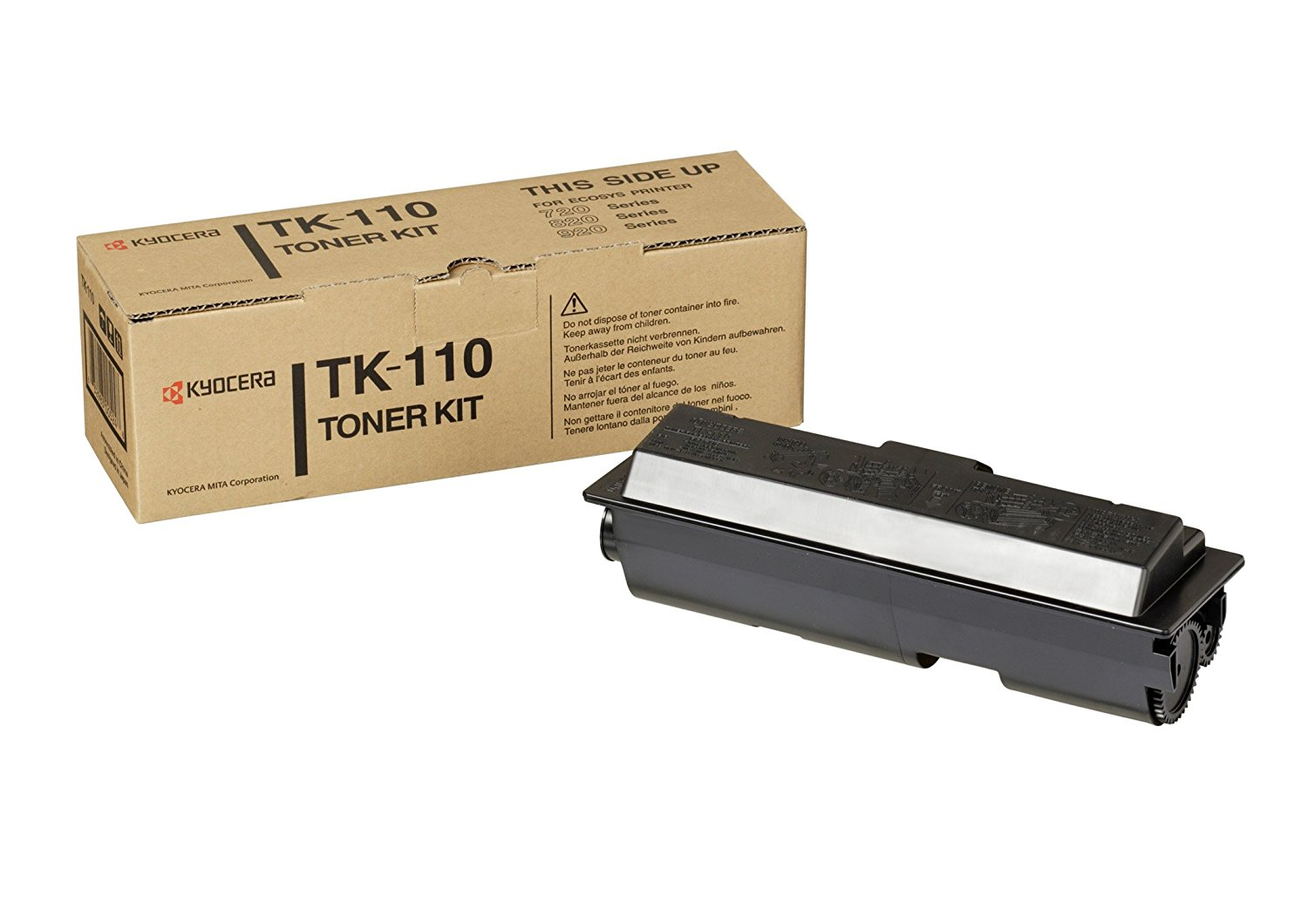 Kyocera TK-110 high capacity black toner ORIGINAL