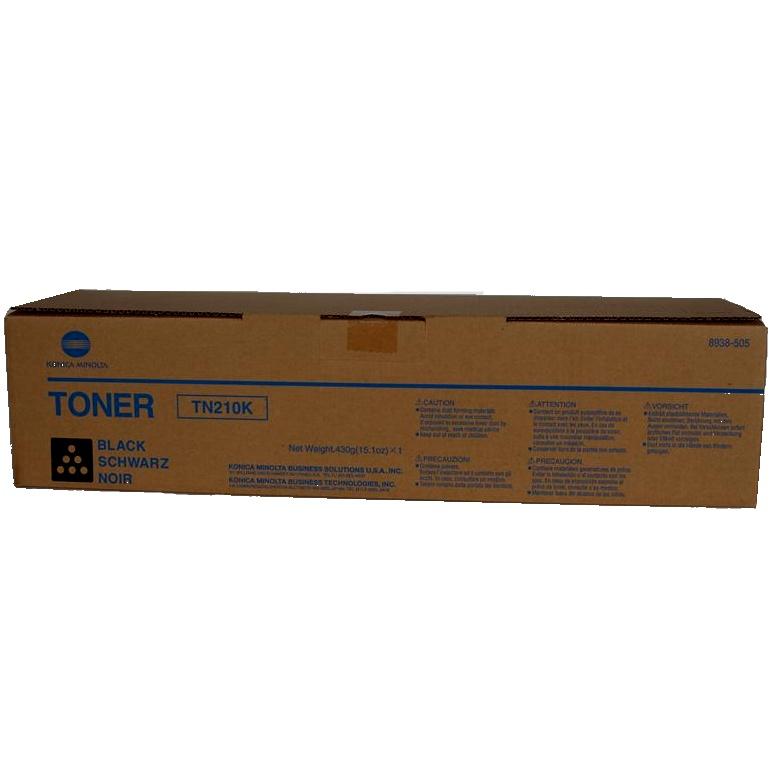 Minolta TN210K Black Toner Original