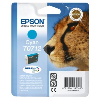 Epson TO712 Cyan Ink Cartridge Original