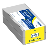 Epson SJIC22P Y yellow ink cartridge original