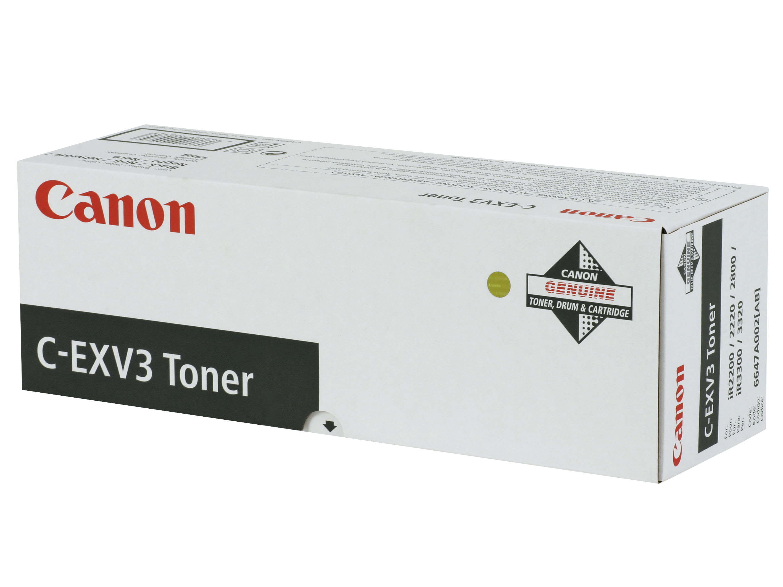 Canon C-EXV3 black toner original