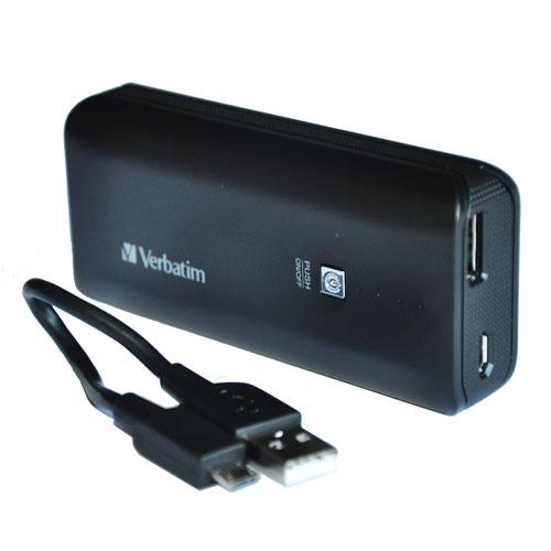 Verbatim Portable Power Pack 2200mAh - Black