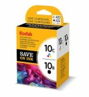 Kodak 10 Black -10 Colour Twin pk Original