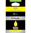 Lexmark 100 Yellow Ink Cartridge Original