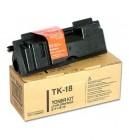 Kyocera TK-18 black toner original Kyocera