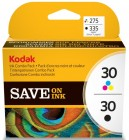 Kodak 30 Black And 30 Colour Twin pack Original