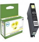 Dell Series 33 extra high capacity yellow ink cartridge original