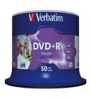Verbatim DVD Plus R 16 x 50 pack Printable