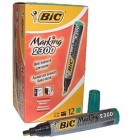 Green Marker Bic 12 Pack