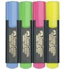 High Lighter  Faber -Castell 4 Pack
