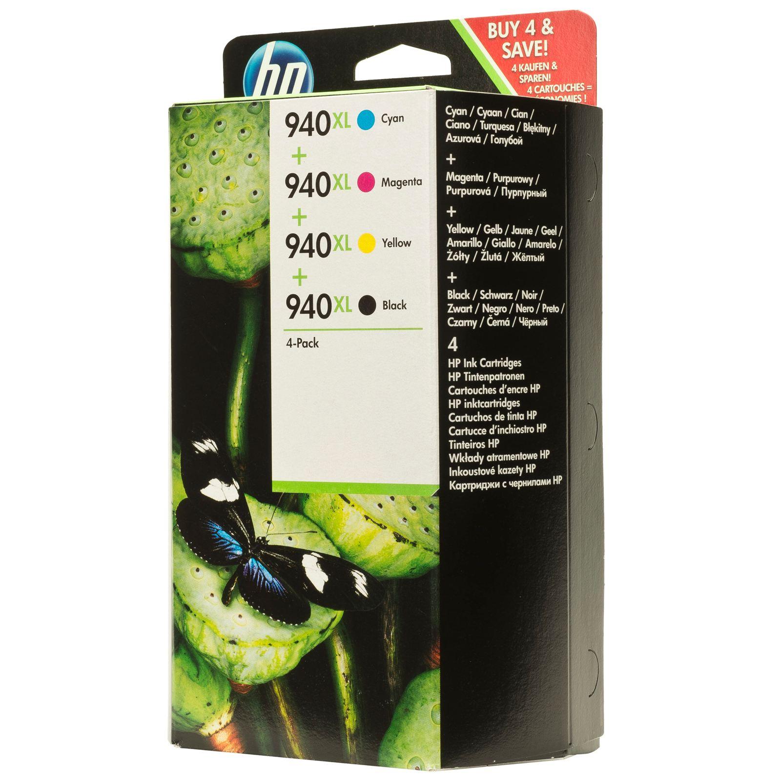 home inkjet fax hp ink cartridges hp 940xl black. Black Bedroom Furniture Sets. Home Design Ideas